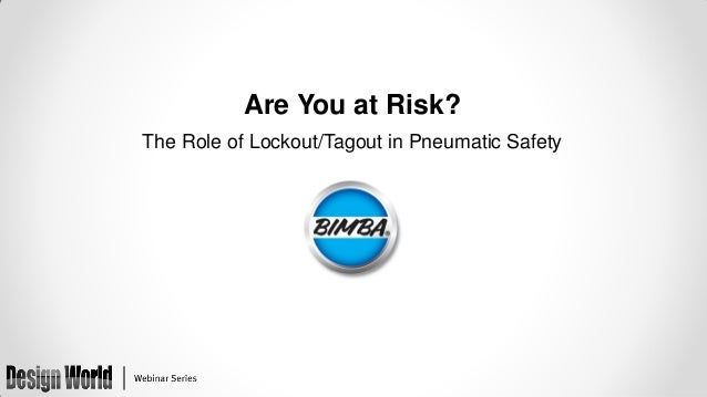 Are You at Risk? The Role of Lockout/Tagout in Pneumatic Safety