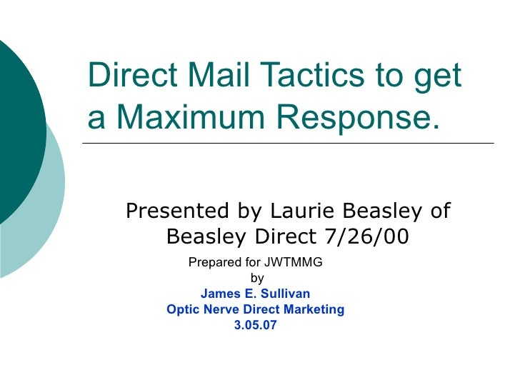The Rules Of Direct Mail