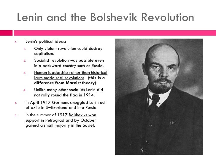 lenin and the russian revolution of 1917 essay Topics: vladimir lenin, october revolution, leon trotsky pages: 3 (975 words) published: october 13, 2013 the russian revolution of 1917 was one of the most significant events in the 20th century it completely changed the government and outlook on life in the very large country of russia.