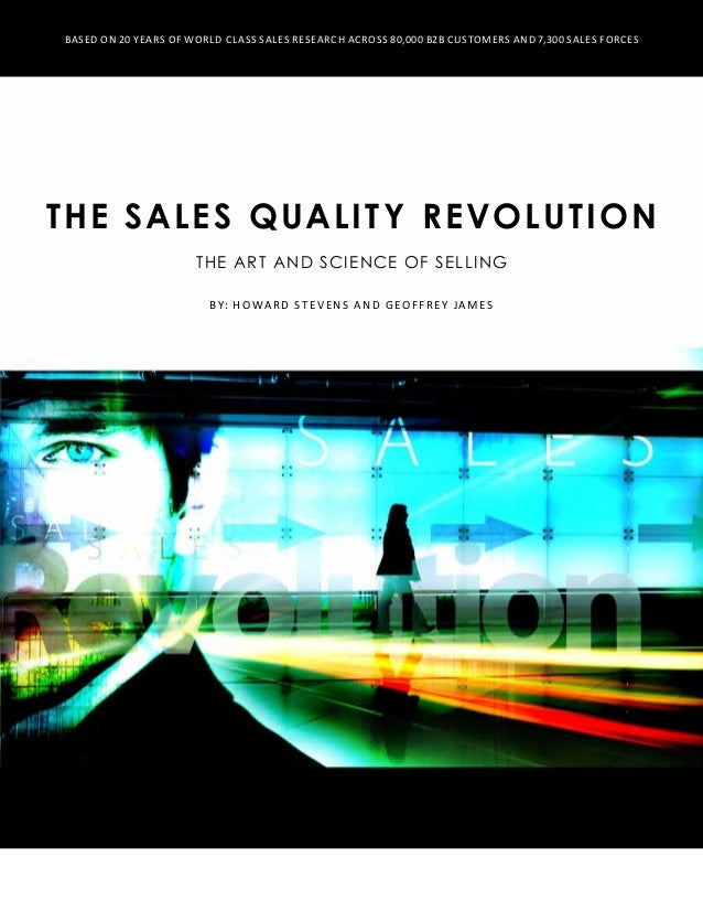 The sales quality_revolution