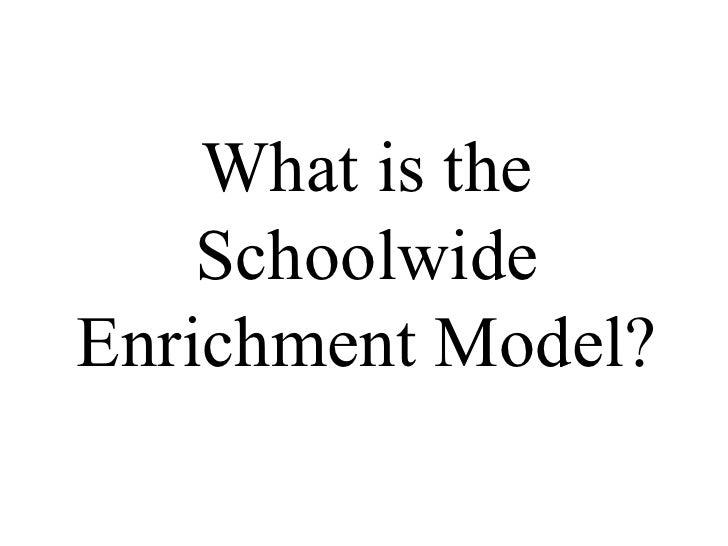 SCHOOL ENRICHMENT MODEL MRSM TRANSKRIA