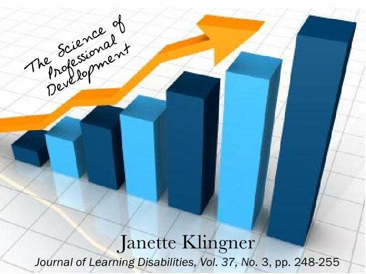 Janette Klingner Journal of Learning Disabilities, Vol. 37, No. 3, pp. 248-255