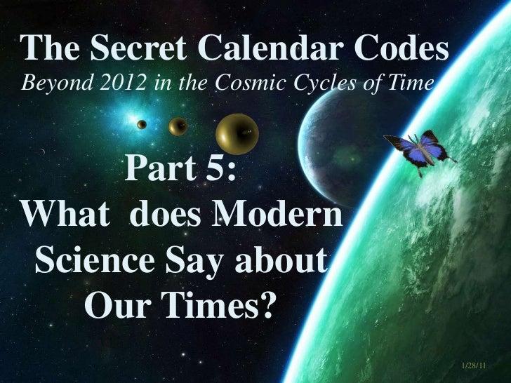 The Secret Calendar Codes 5 of 7