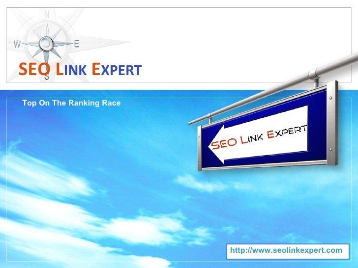 Top On The Ranking Race SEO   L INK   E XPERT http://www.seolinkexpert.com