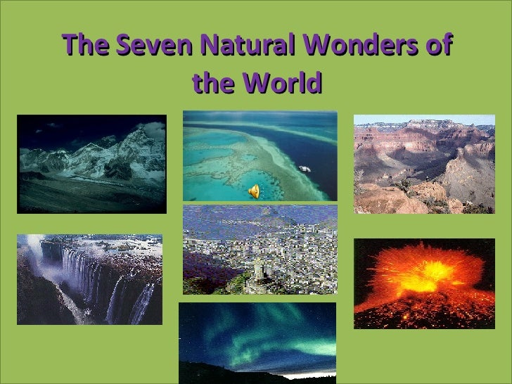 new 7 wonders of the natural world