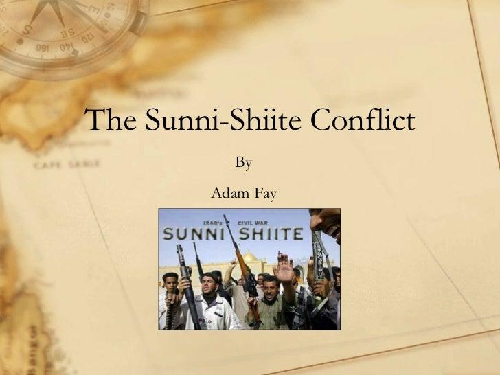 The Sunni-Shiite conflict