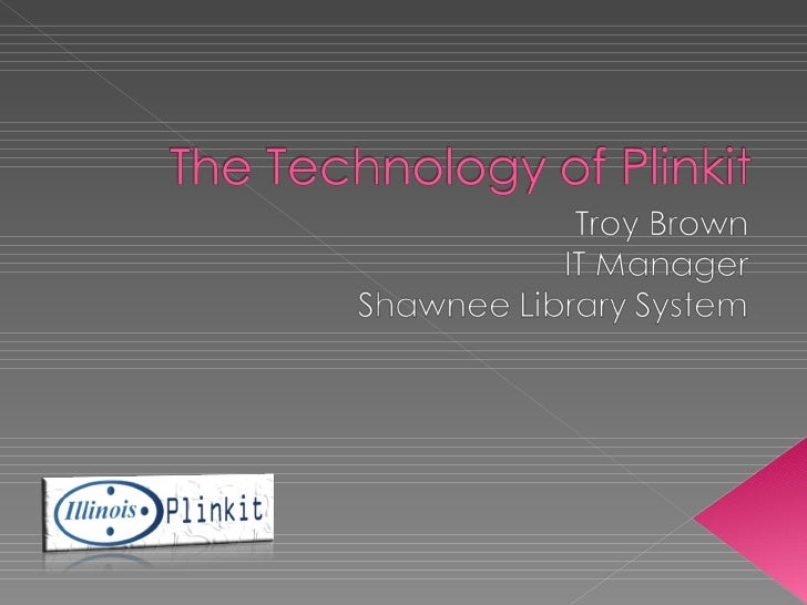 The Technology Of Plinkit
