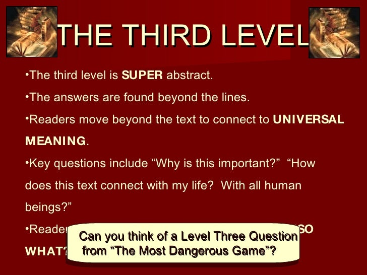 the third level
