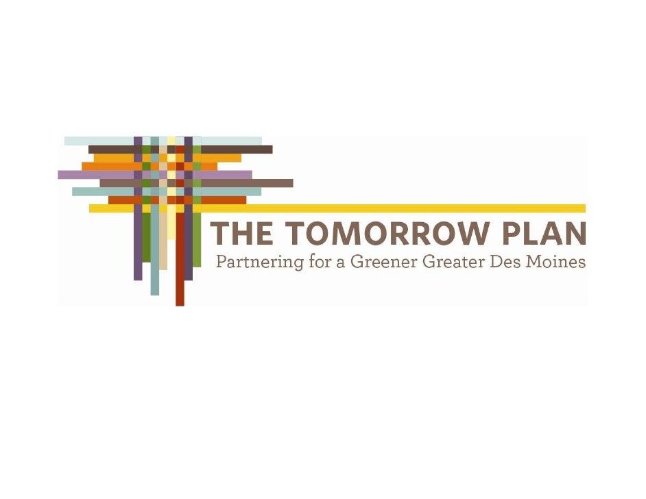The Tomorrow Plan