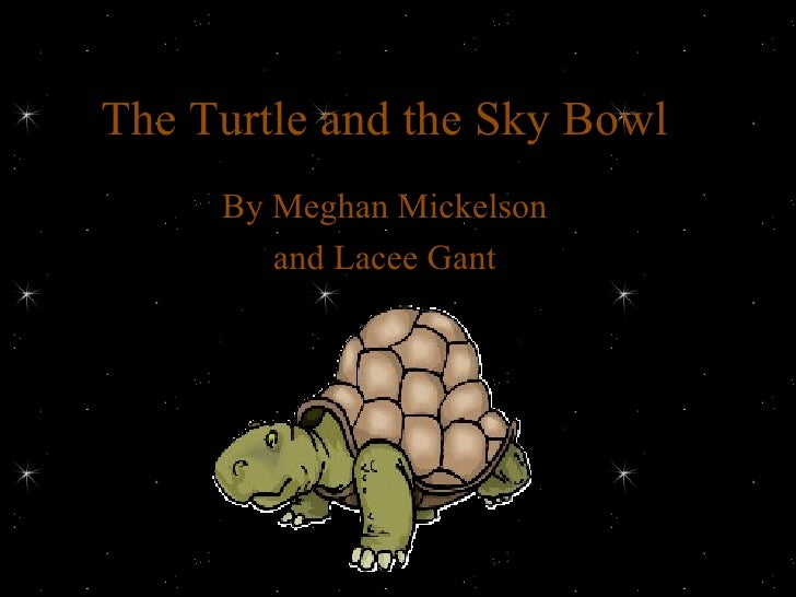 The Turtle and the Sky Bowl By Meghan Mickelson and Lacee Gant