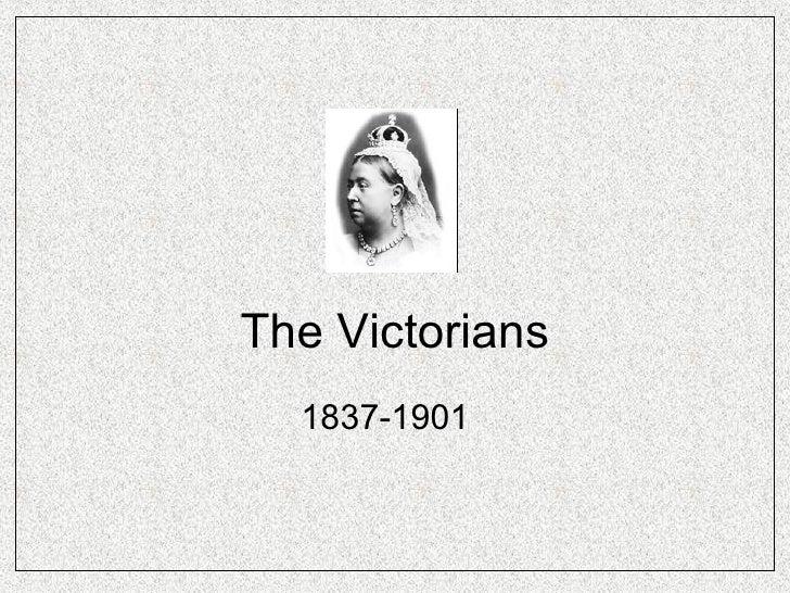 The Victorians  Pre 1914