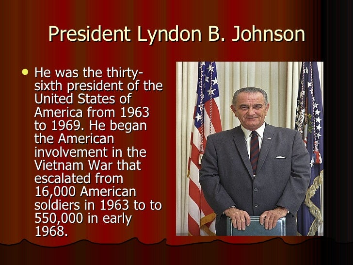 lyndon b johnson and vietnam war