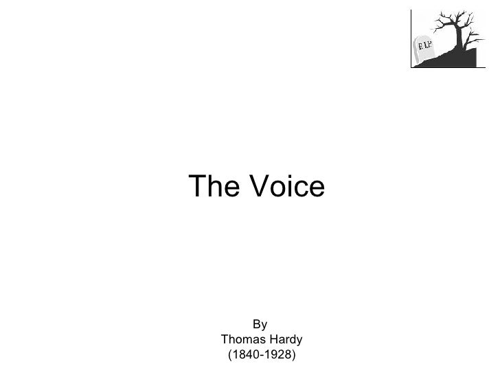 The Voice By  Thomas Hardy (1840-1928)
