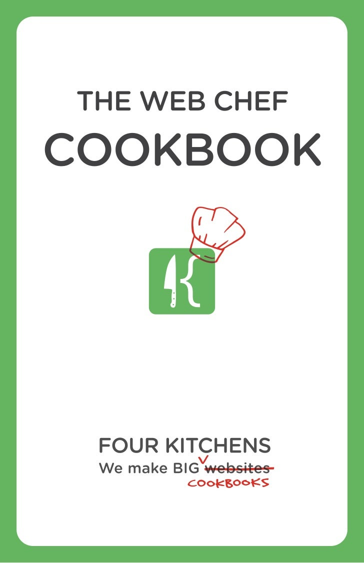 The Web Chef Cookbook