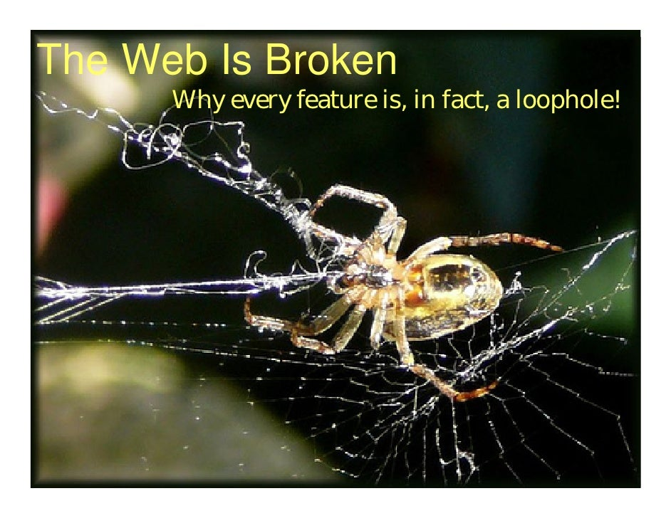 """The Web Is Broken"" by Bipin Upadhyay"