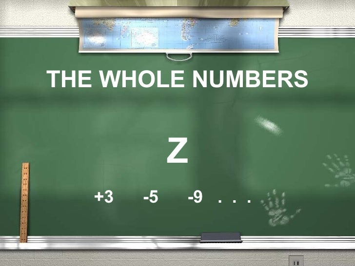 The Whole Numbers