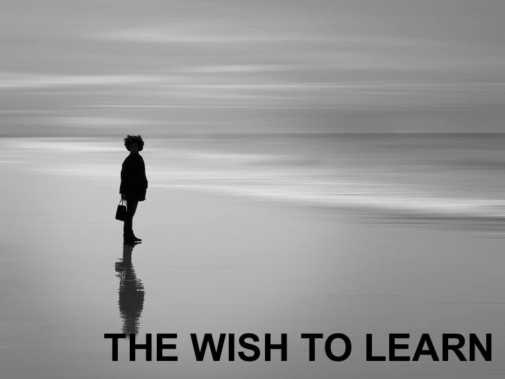 THE WISH TO LEARN
