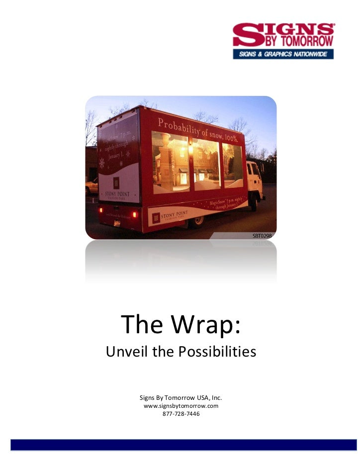 The Wrap: Unveil The Possibilities - A Signs By Tomorrow Case Study