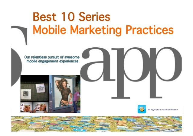 The 10 Best Mobile Marketing Practices for 2014