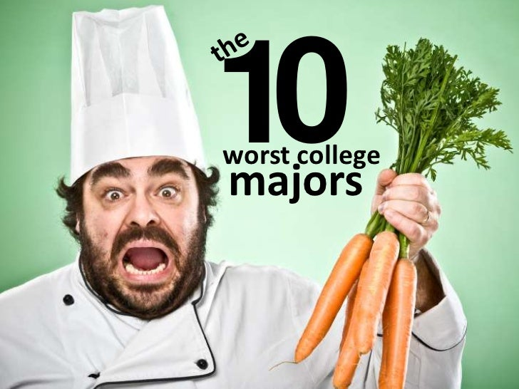 The 10 Worst College Majors