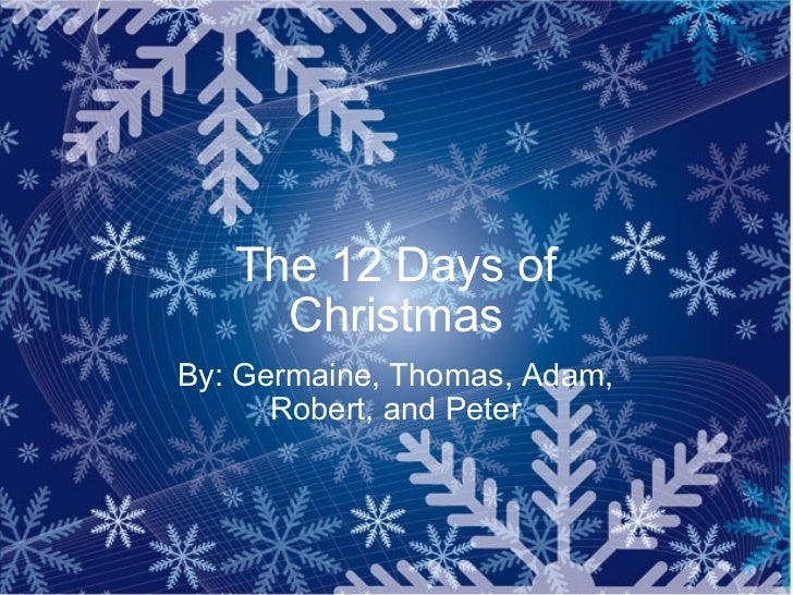 The 12 days_of_christmas