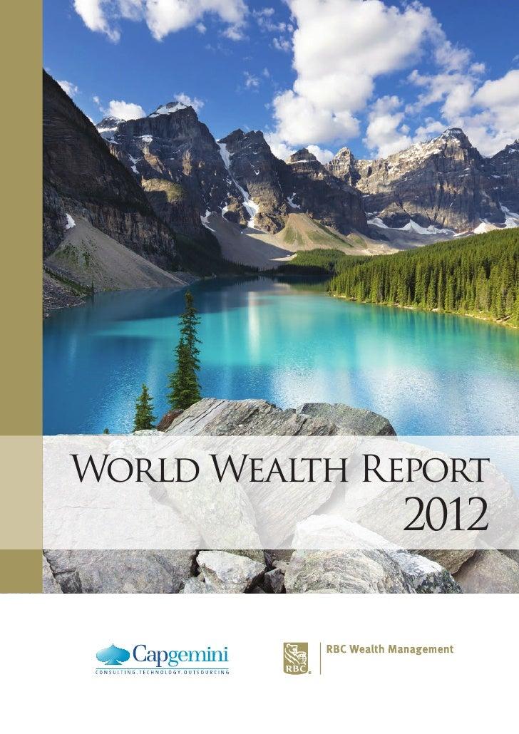 World Wealth Report 2012