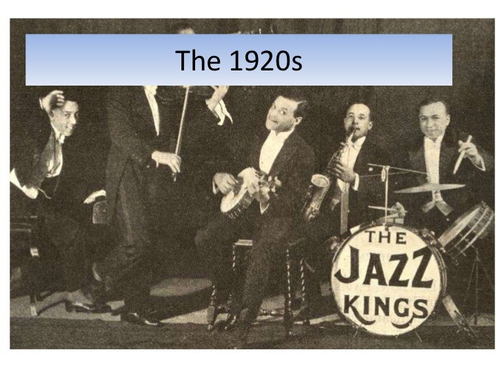 The 1920s<br />