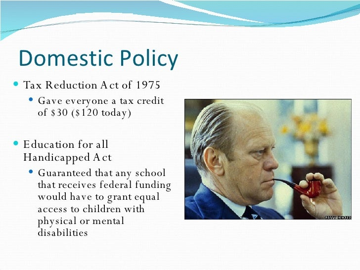 the economic policies of gerald ford W carl biven's jimmy carter's recession suffered under president gerald ford as the president's economic policies as both occurring during a.