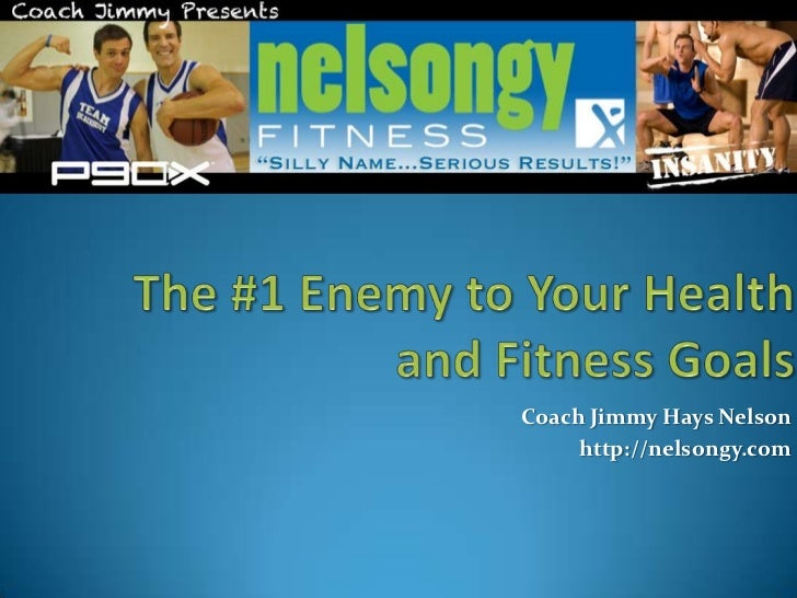 The #1 Enemy to Your Health and Fitness Goals