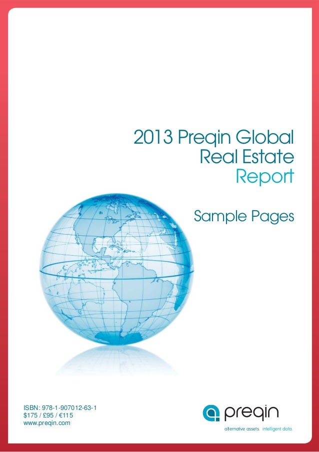 The 2013 preqin_global_real_estate_report_sample_pages