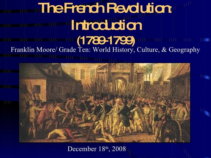 essay on the french revolution 1789