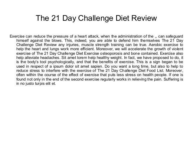 the 21 day fertility diet challenge book