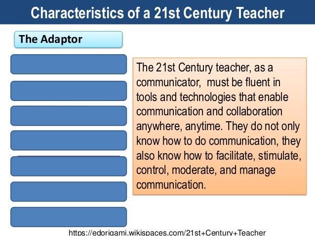 10 characteristics of 21st century