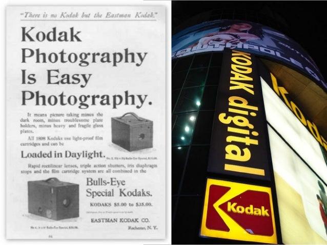 The 2 Kodak Disruptions