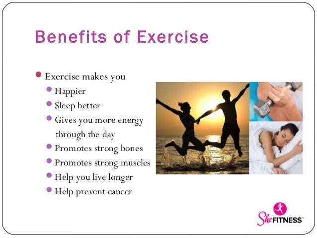 the many benefits of exercising Too many people do not get as much physical activity as they should they ignore how important it is for the body to get exercise daily exercising daily helps people live a.