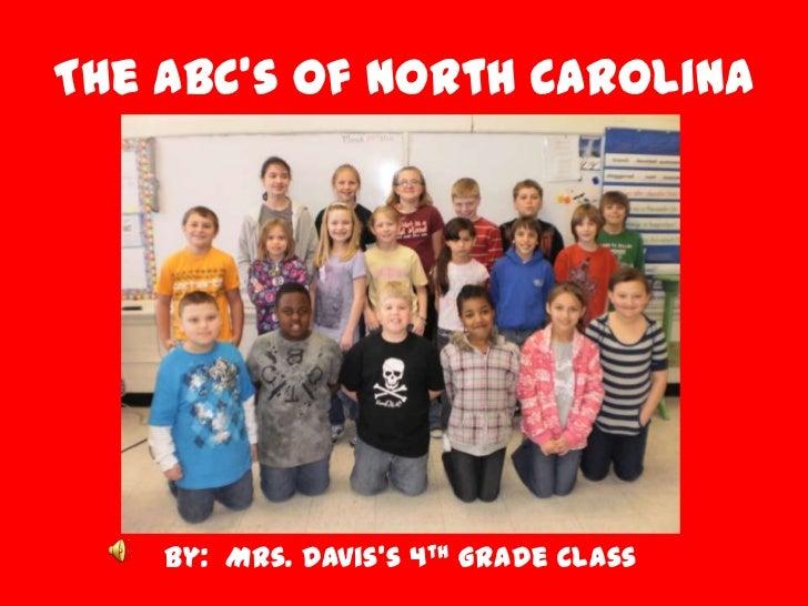 The abc's of north carolina
