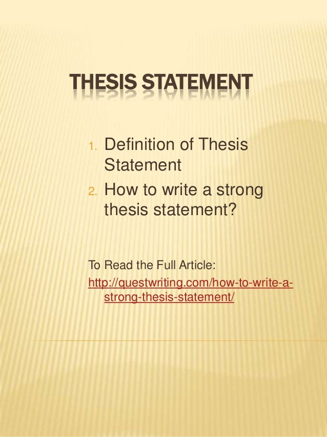 Write my how to right a thesis