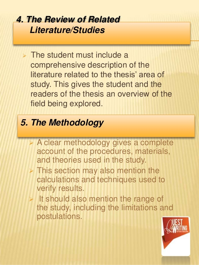 Quest. for College students...What is a thesis?