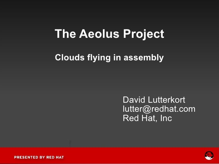 The Aeolus Project