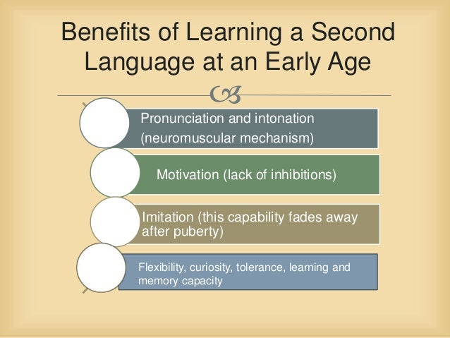 Benefits of learning a second language essay
