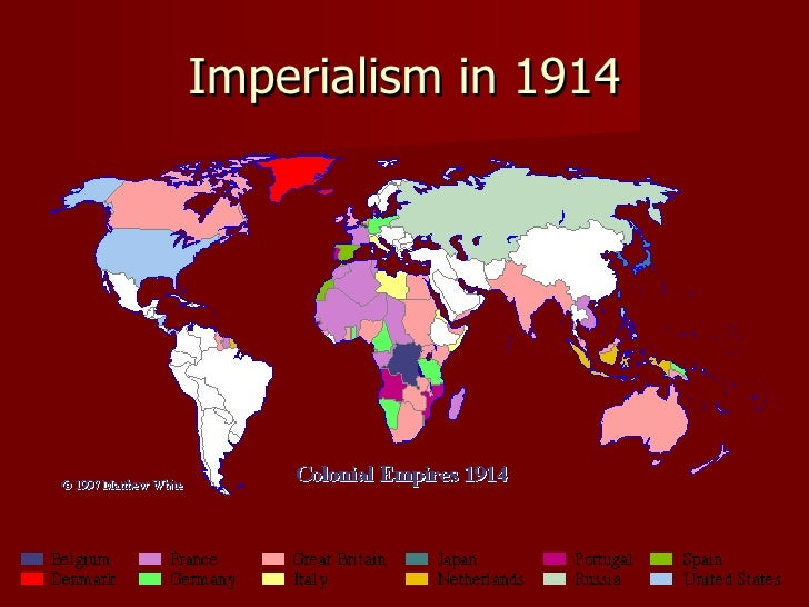 an analysis on imperialism as the pursuit of colonial empires