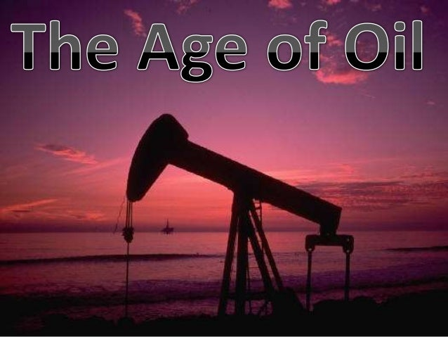 The age of oi l2