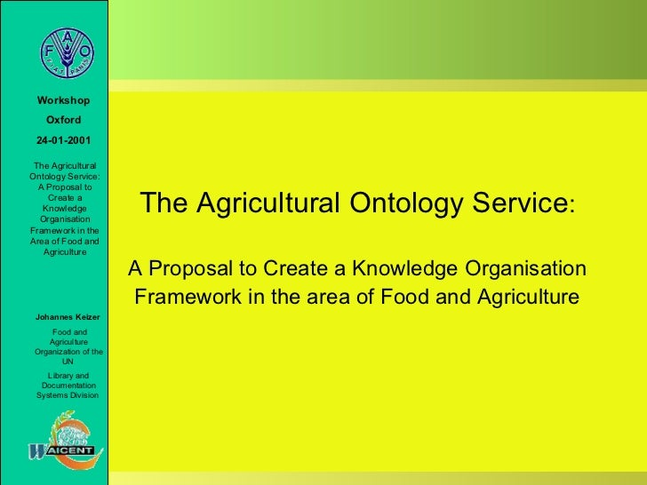 The agricultural ontology service