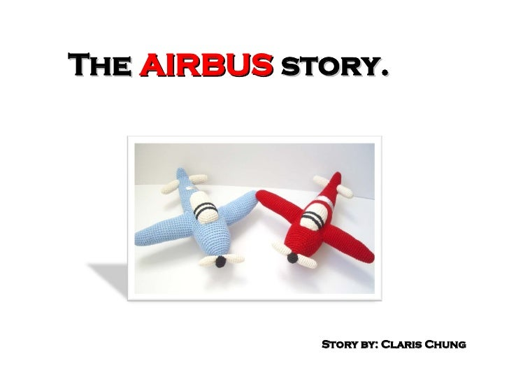 The  AIRBUS  story. Story by: Claris Chung