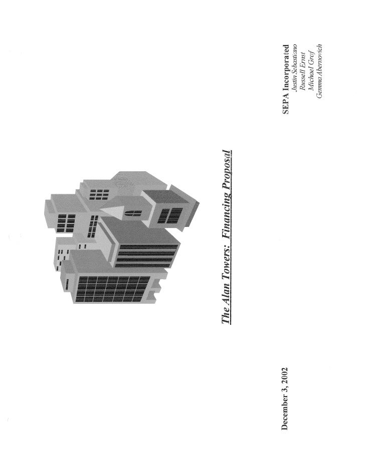 The Alan Towers (Commercial Real Estate Financing)