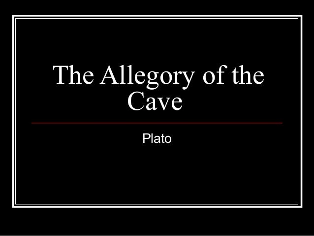 an analysis of platos allegory of the cave