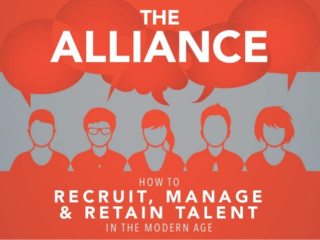 The Alliance - How to attract, manage and retain Talent in the networked age? New book by Reid Hoffman