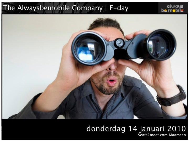"The Alwaysbemobile Company | E-day                                   NEWMEDIA    !""#$%&'()*+%&$+$&,$-%./%%   0$&""$1%,21%-$..."