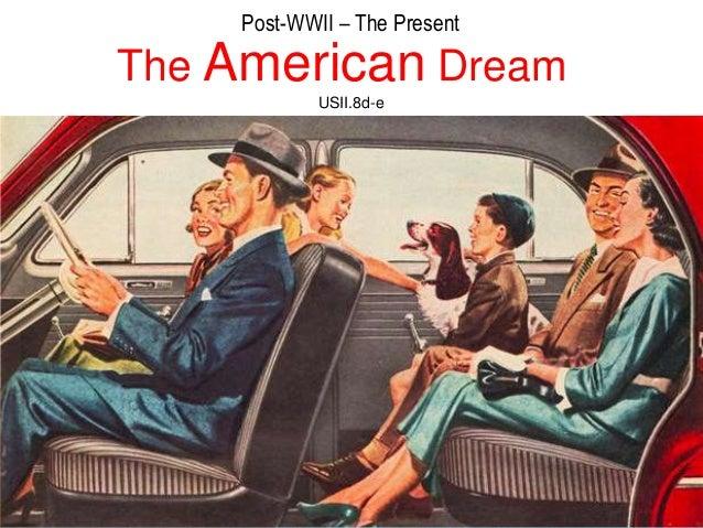 American dream?