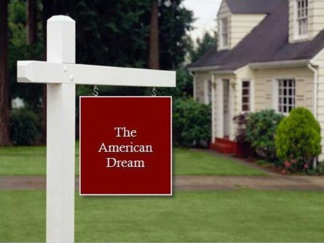 The American Dream & Renewing Wealth Creation
